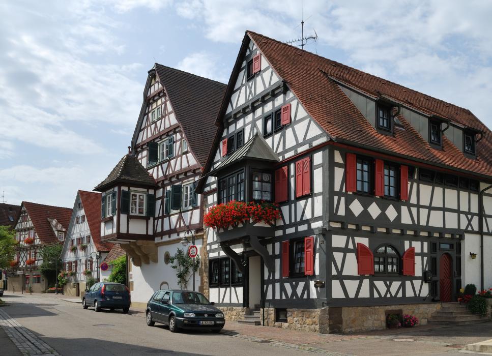 Фасады европейских домов фото